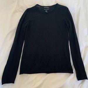 Cynthia Rowley 100% Merino Wool Long Sleeve Top